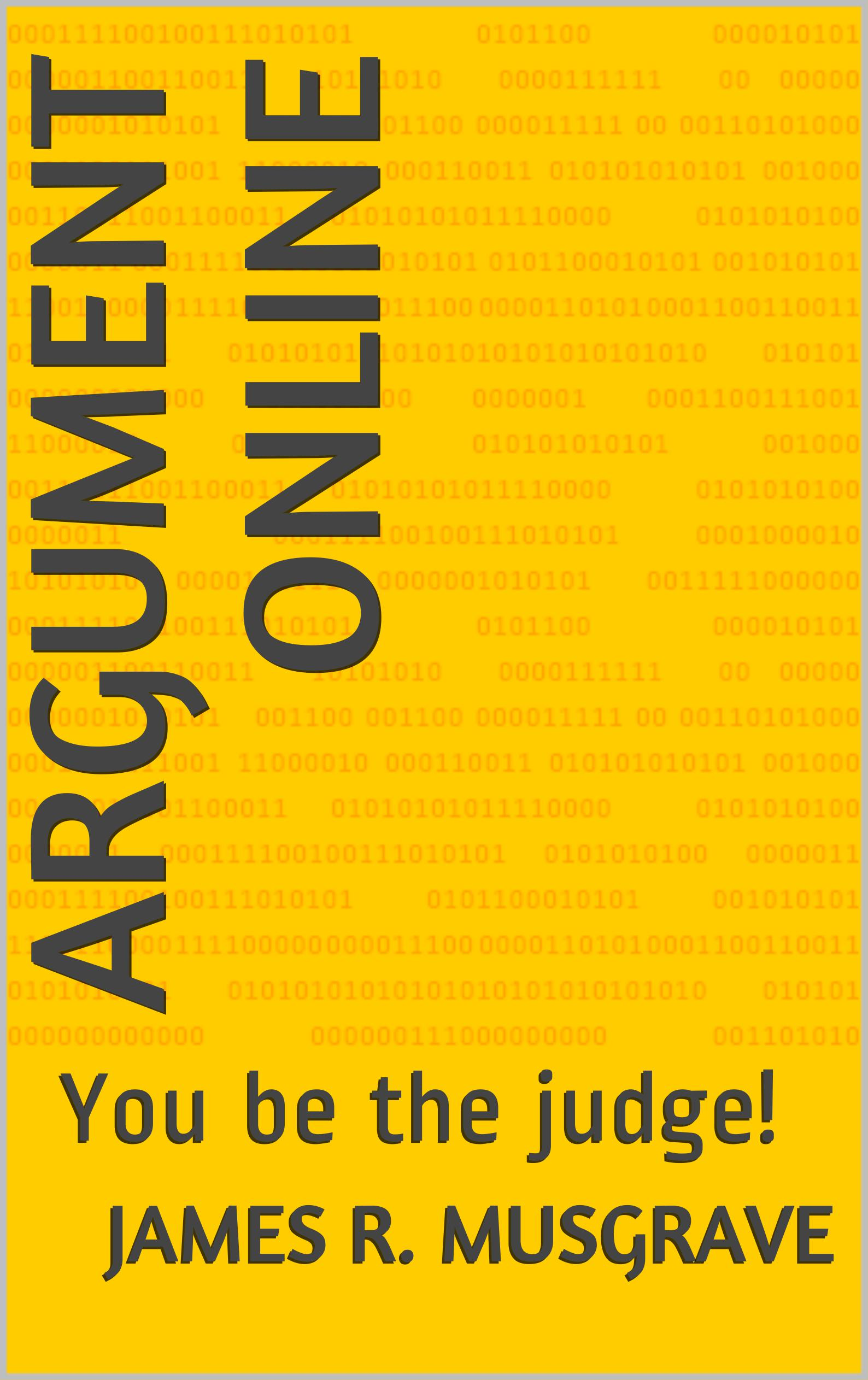 Argument Online: You Be the Judge cover